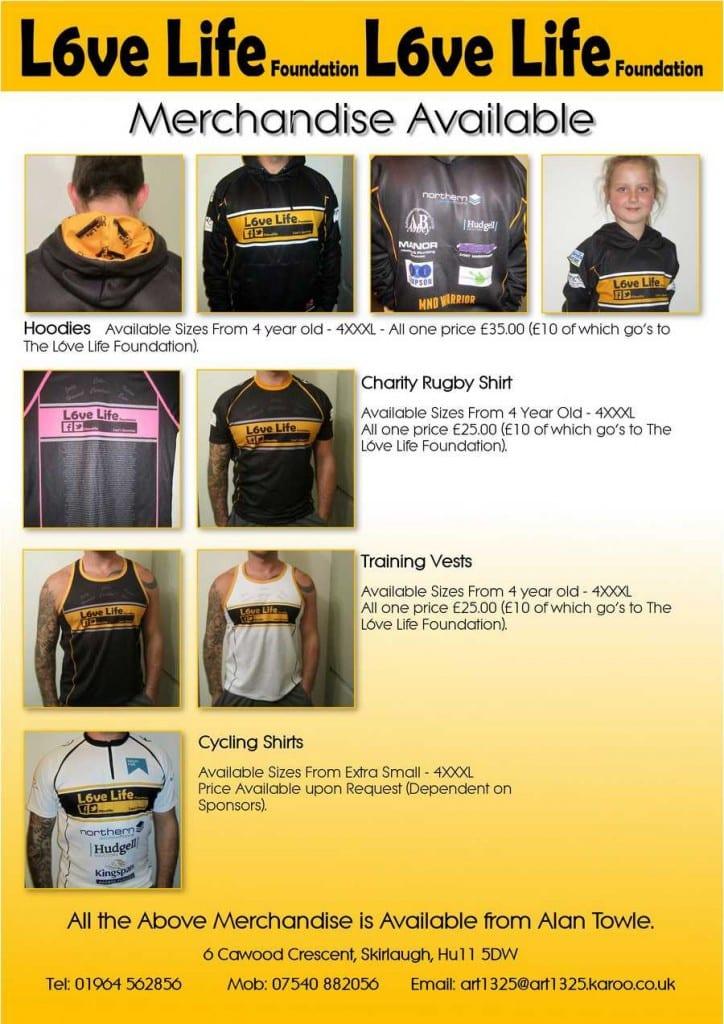 L6ve Life Merchandise 1