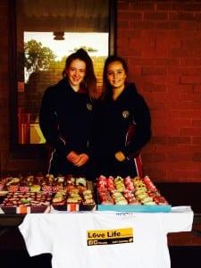 Hannah Newton and friend raised £190 for Motor Neurone Disease