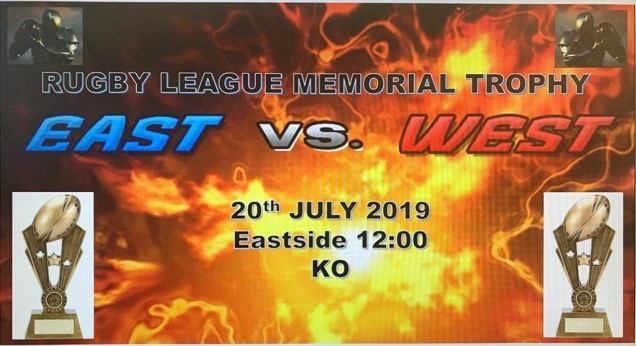 East v West Rugby League Memorial Trophy